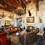 2Horseshoe Bay Lake House Living Room by Zbranek & Holt Custom Homes, Horseshoe Bay and Austin Luxury Custom Home BuildersCBUSA